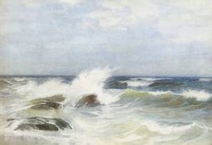 Frank Knox Morton Rehn American 18481914 Ocean View