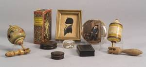 Group of Nine Assorted Small Items
