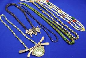 Small Group of Studio Design and Modern Bead Jewelry