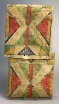 Northern Plains Polychrome Parfleche Envelope