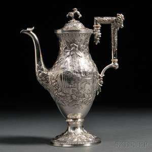 S Kirk  Son Silver Coffeepot