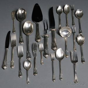 Wallace Grand Colonial Pattern Sterling Silver Flatware Service