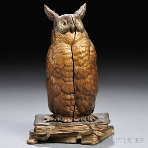 Franz Bergman Erotic Metamorphic Coldpainted Bronze Figural Group