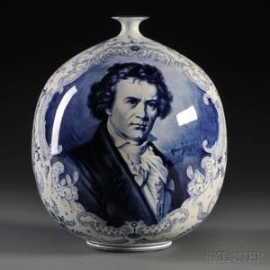 Royal Bonn Porcelain Delft Vase