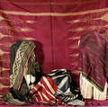 Five Middle Eastern Silk Textiles