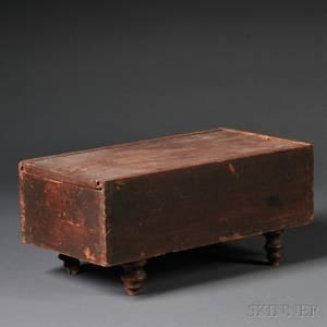 Redpainted Slidelid Box
