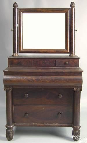 Empire mahogany dresser