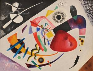 After Wassily Kandinsky Russian 18661944 Tache rouge II