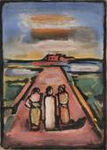 Georges Rouault French 18711958 Les disciples