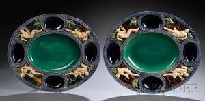 Two Majolica Serving Dishes