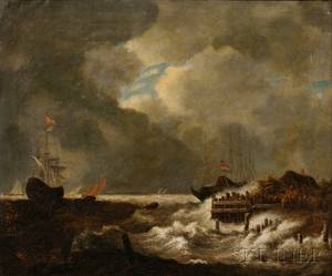After Jacob Isaakszoon van Ruisdael Dutch 162891682 The Tempest