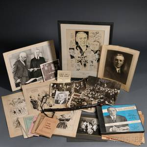 Curley James Michael 18741958 Lot of Assorted Material 20th Century
