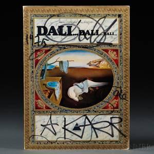 Dali Salvador 19041989 DaliDaliDali Signed Copy