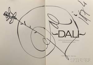 Dali Salvador 19041989 Dali Signed Copy
