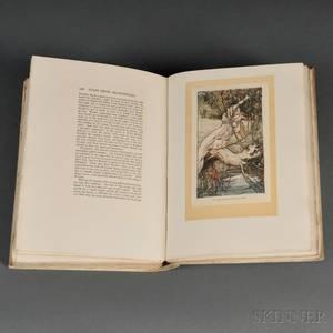 Rackham Arthur Illustrator 18671939 Tales from Shakespeare by Charles  Mary Lamb