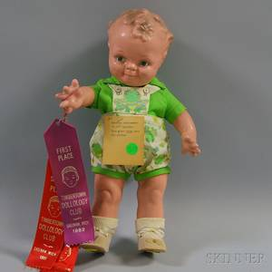 Composition Scootles Doll