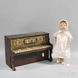 Schoenhut Doll and Piano