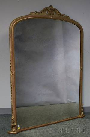 Large Gilt Pier Mirror