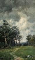 Augustus Maurice Friedlander American 18561897 Path Along the Meadows Edge