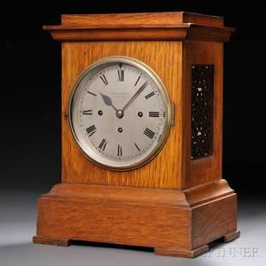 R  W Sorley Oak Mantel Clock