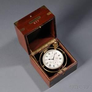 Waltham Watch Company Eightday Chronometer Watch