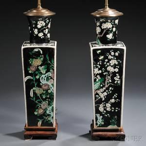 realized price for famille noir vase. Black Bedroom Furniture Sets. Home Design Ideas