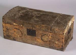 HideCovered Pine Box