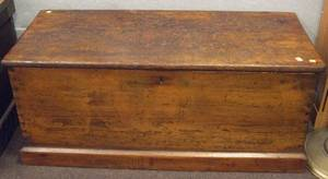 Pine Dovetail Constructed Blanket Box