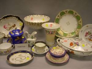 Thirtyseven Pieces of Continental Decorated Ceramic Tableware