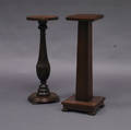Two Wood Pedestals