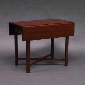 Chippendalestyle Cherry Pembroke Table