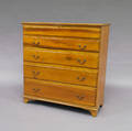 Poplar Chest Over TwoDrawers