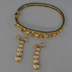 Small Group of 14kt Gold and Diamond Jewelry