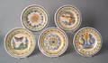 Ten Quimper luncheon plates ca 19001925