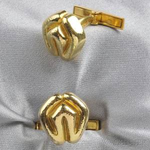 18kt Gold Cuff Links Zolotas