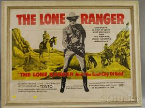 Lone Ranger and The Lost City of Gold Movie Poster