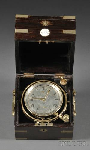 TwoDay Marine Chronometer by French
