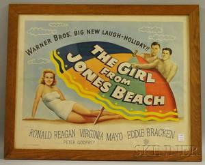 The Girl From Jones Beach Movie Poster