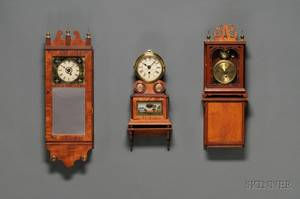 Collection of Three Miniature Wall Clocks by Michael Paul