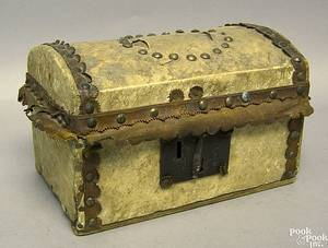 Hide covered lock box