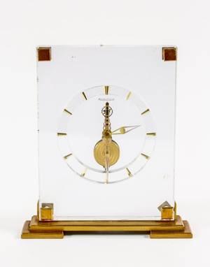 Jaeger LeCoultre Lucite Clock