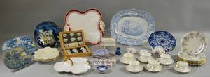 Large Lot of English and Continental Porcelain and Ceramic Table Items