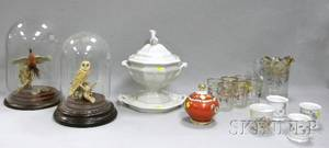 Group of Assorted Decorative Ceramics and Glass