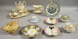 Nineteen Pieces of Wedgwood Decorated Ceramic Tableware