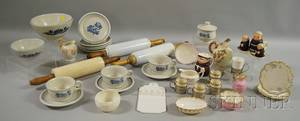 Assorted Ceramic and Glass Tableware and Collectible Items