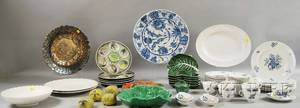 Group of Mostly Ceramic Decorative Tableware