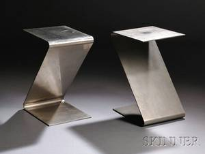 Pair of Modern Zform Side Tables