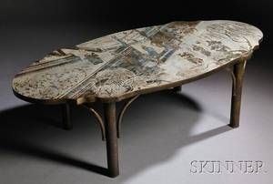 Philip  Kelvin LaVerne Coffee Table