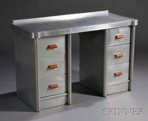 Art Decostyle Industrial Aluminum Desk