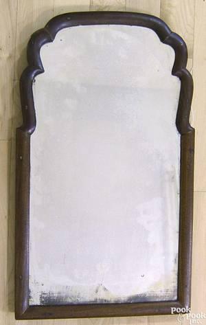 Queen Anne mahogany mirror ca 1720